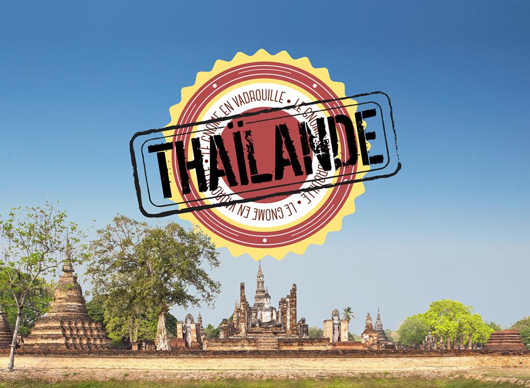 Le gnome en vadrouille en thailande