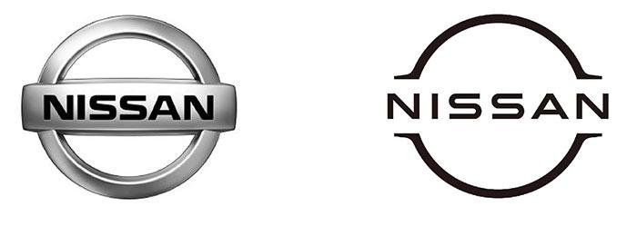 Nouveau logo Nissan