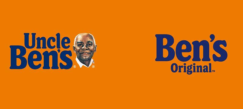 Nouveau logo Uncle Ben's